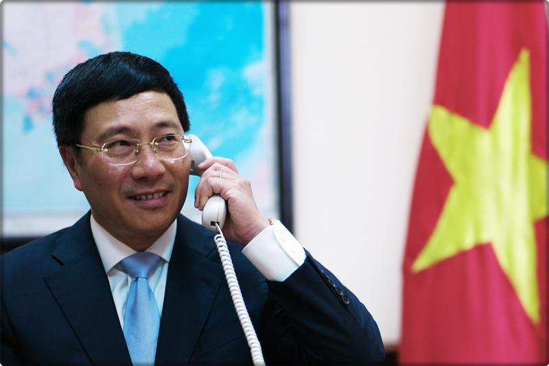 Ngoại trưởng CSVN điện đàm với Ngoại trưởng Hoa Kỳ