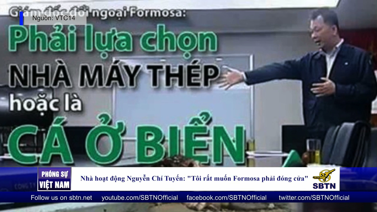"""Nhà hoạt động Nguyễn Chí Tuyến: """"Tôi rất muốn Formosa phải đóng cửa"""""""