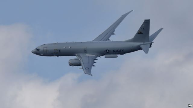 Tình hình Biển Đông căng thẳng khi hải quân Trung Cộng 8 lần cảnh cáo phi cơ thám sát Hoa Kỳ