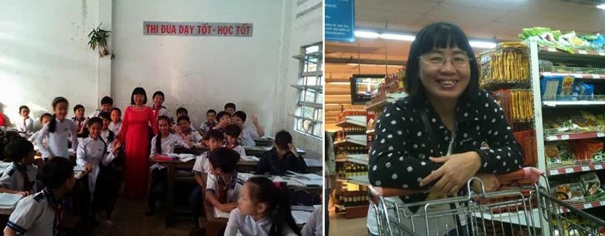 Công an huyện Cái Bè kiểm soát máy tính của cô giáo