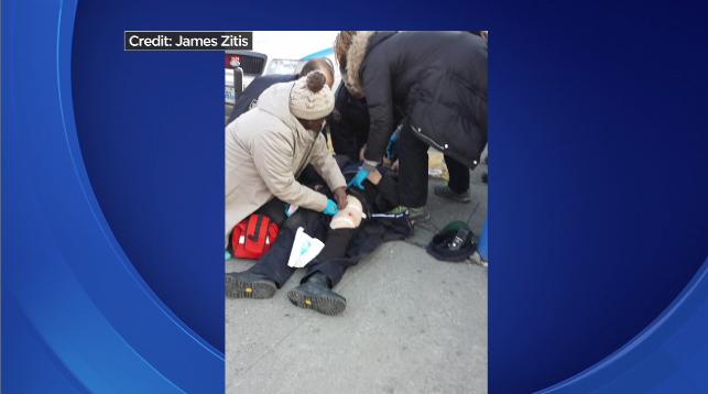 Dân giúp bắt người đi lậu xe buýt bắn quỵ cảnh sát