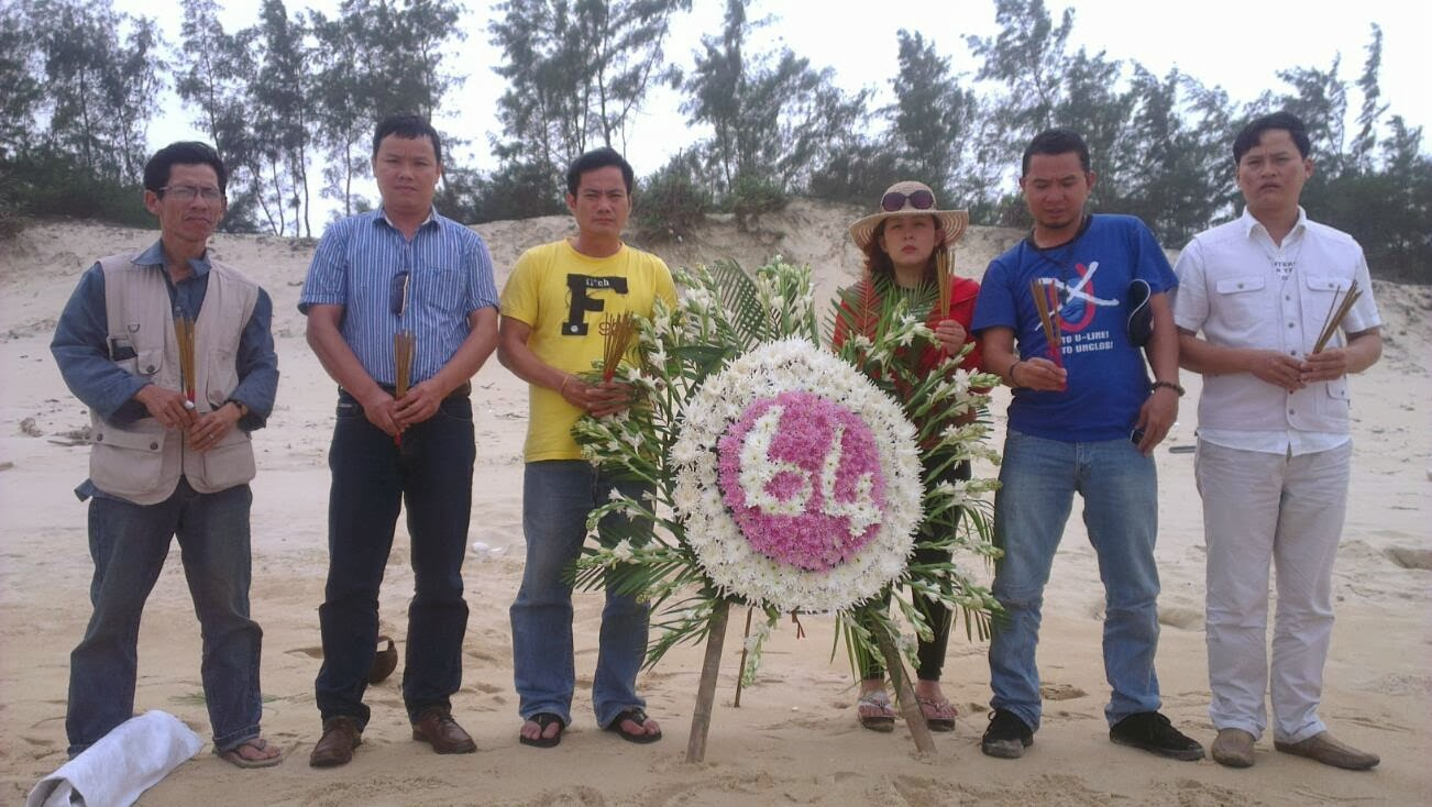 Trong nước tưởng niệm ngày Trung Cộng thảm sát người Việt Nam ở đảo Gạc Ma