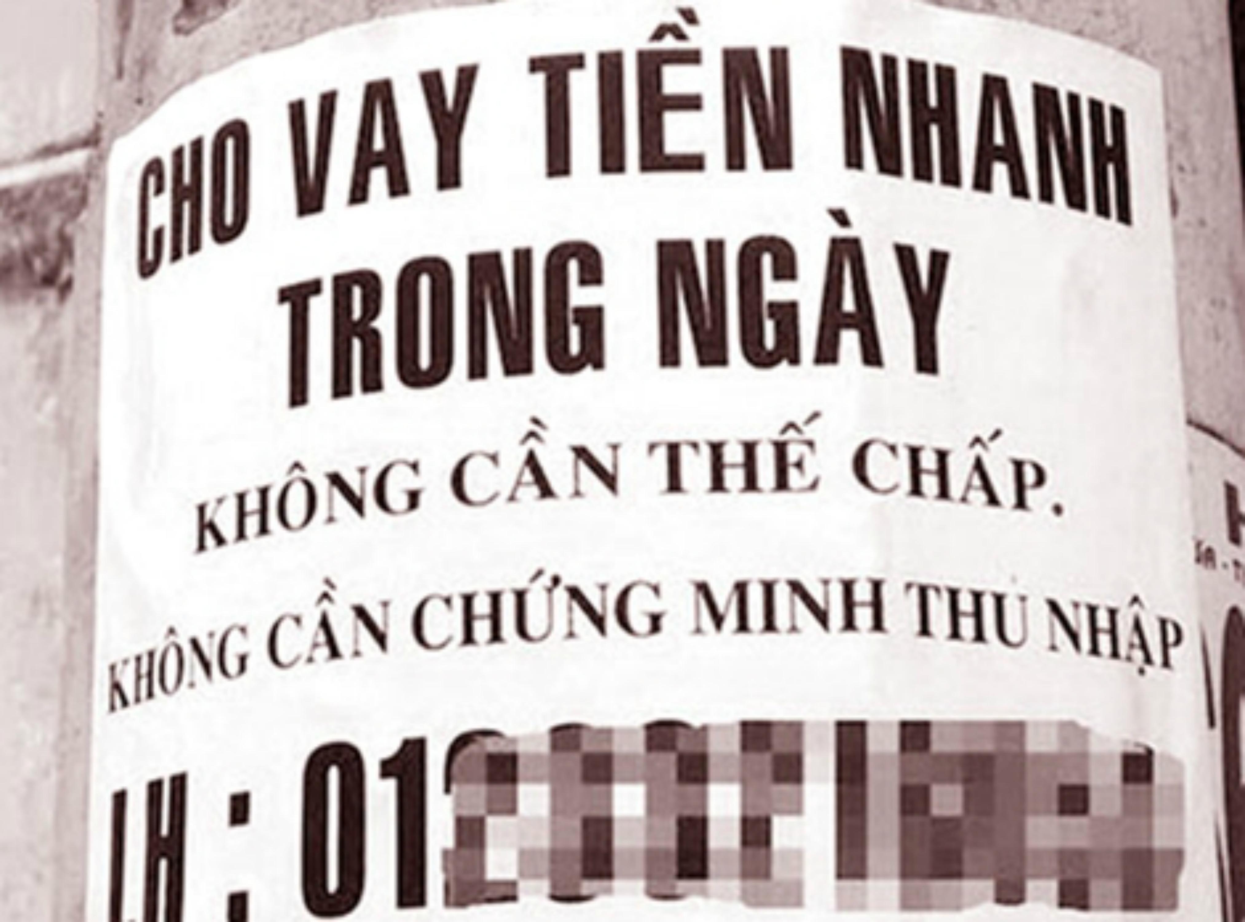 """Vay tiền """"chợ đen"""" ở Sài Gòn nhân mùa Euro 2016"""