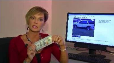 Một ông bị bắt vì mua xe bằng cọc tiền giả 100 đô