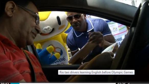 10,000 tài xế taxi Brazil học tiếng Anh chuẩn bị thế vận hội