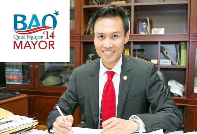 Thông Cáo Báo Chí: Bảo Nguyễn thắng cử Thị Trưởng Garden Grove