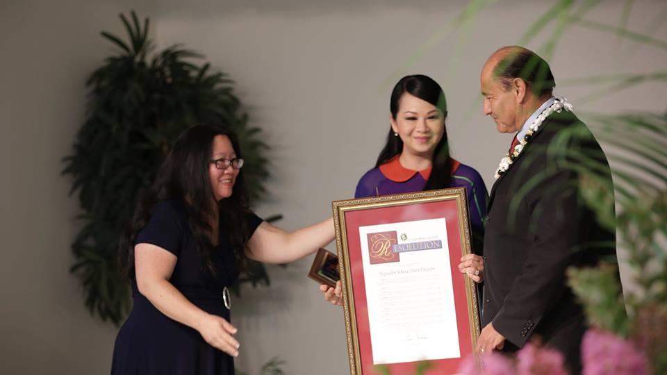 Tiểu bang California vinh danh các cá nhân và hội đoàn người Việt xuất sắc