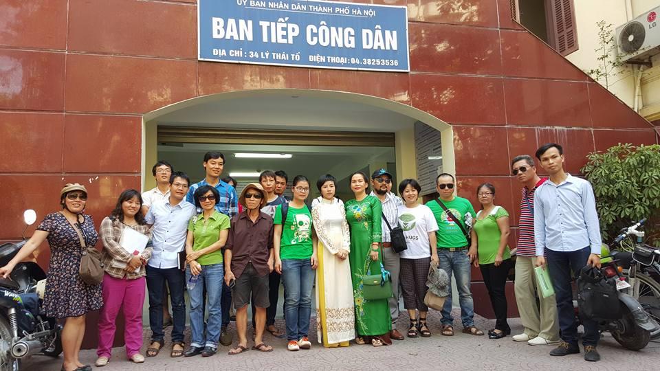 Nhóm cây xanh tiếp tục con đường pháp lý