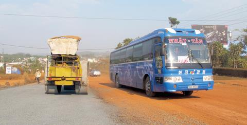 500 km Quốc lộ 14 có 10 trạm thu phí