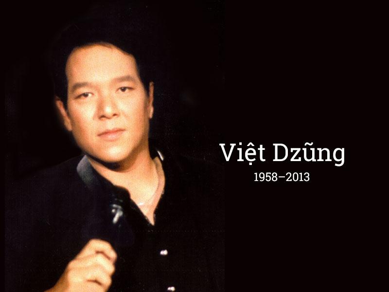Thông báo về lễ Giỗ đầu tiên của cố nhạc sĩ Việt Dzũng
