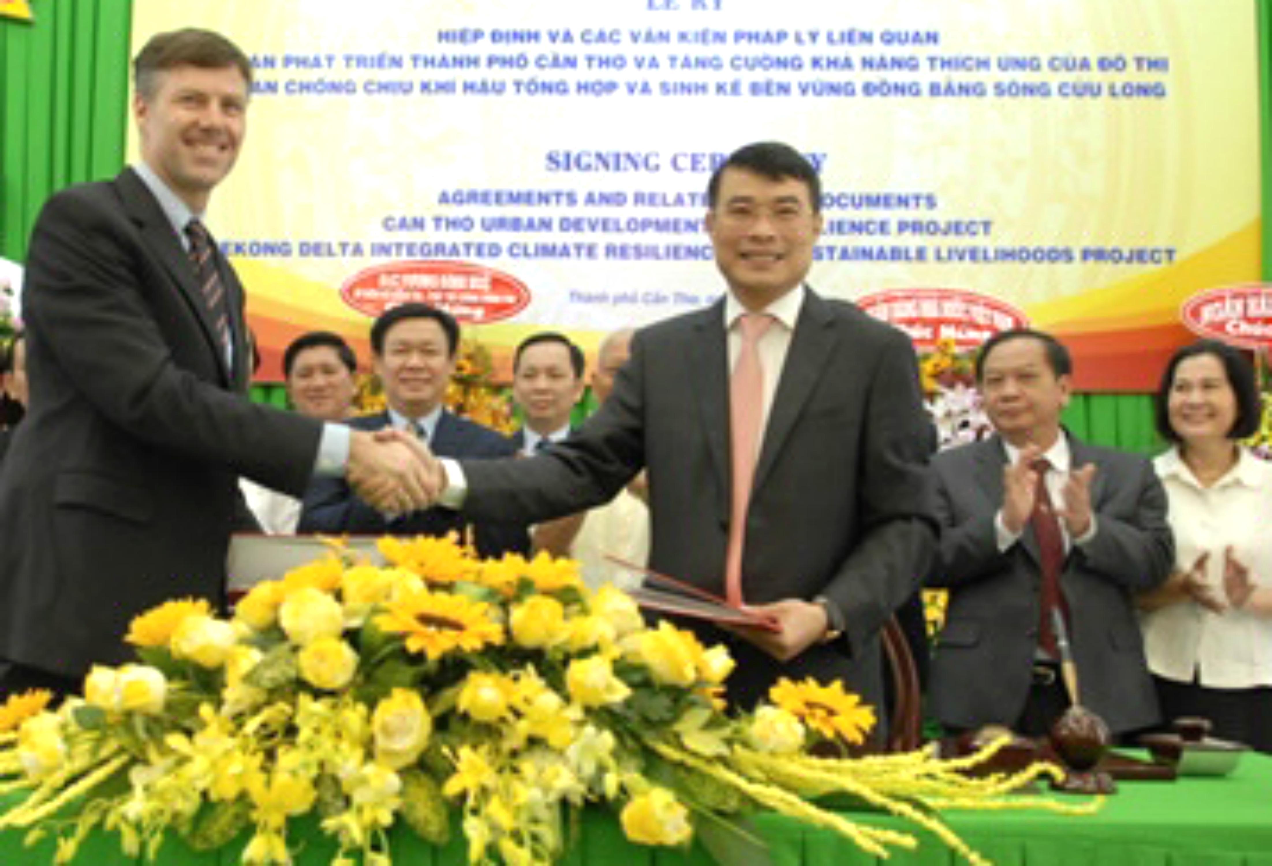 Việt Nam vay World Bank 560 triệu Mỹ kim phát triển vùng đồng bằng sông Cửu Long