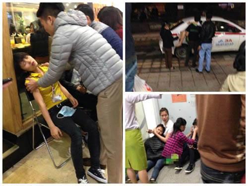 Hàng chục người bị ngất xỉu ở siêu thị Big C Hà Nội
