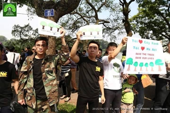 Công an Hà Nội bắt 5 bạn trẻ ở Nghệ An tham gia tuần hành vì cây xanh