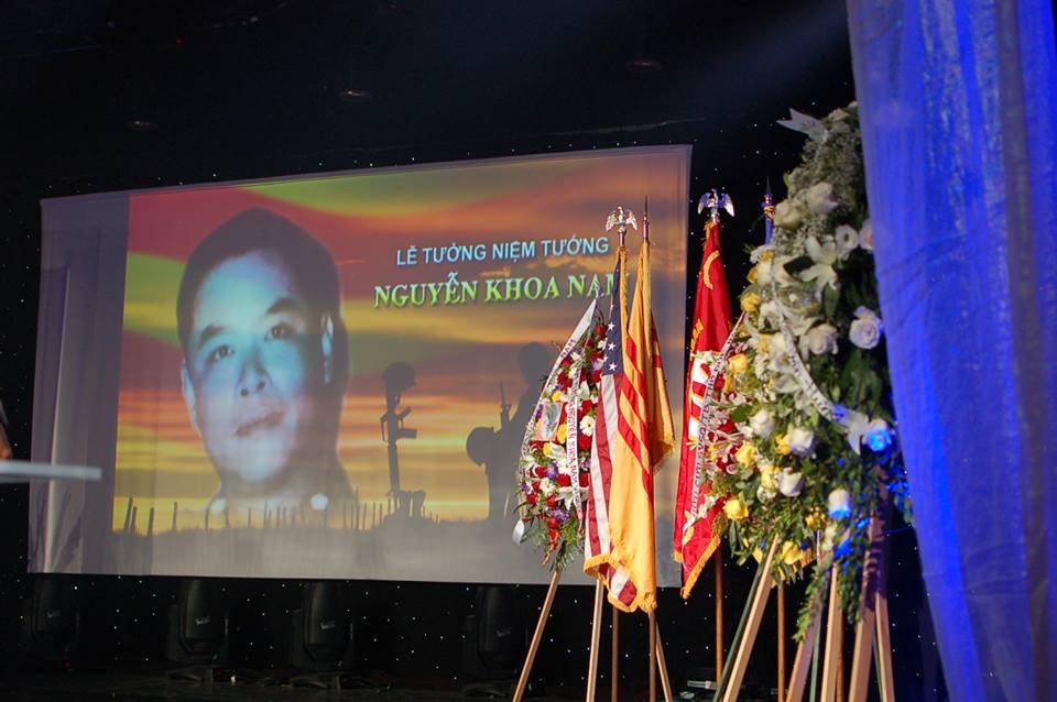Lễ tưởng niệm ngày tuẫn tiết của tướng Nguyễn Khoa Nam