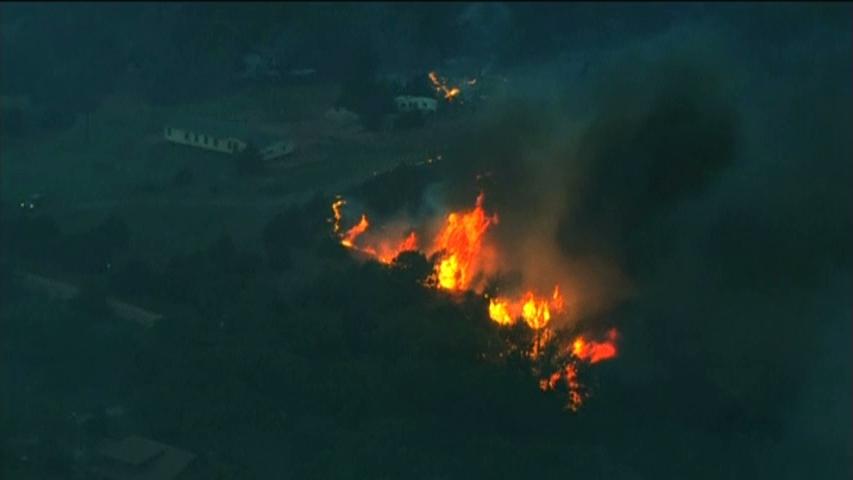 Cháy rừng ở Oklahoma, một người thiệt mạng, cư dân phải di tản
