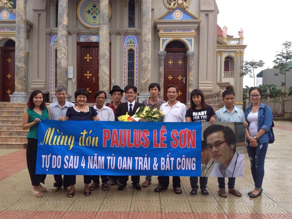 Blogger Paulus Lê Sơn mãn hạn tù 4 năm