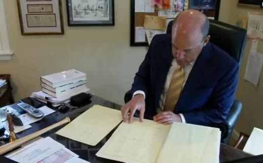 Cựu phát ngôn viên Tòa Bạch Ốc công bố bản nháp viết trên Air Force One trong ngày 11 tháng 9