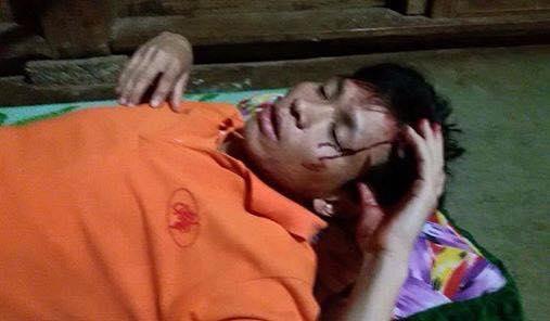 Côn an tiếp tục đập phá tài sản và khủng bố anh Trần Minh Nhật cùng gia đình