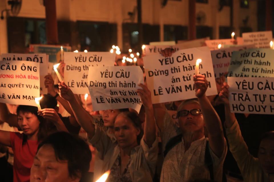 Tạm hoãn thi hành án tử hình oan sai Lê Văn Mạnh vào giờ chót