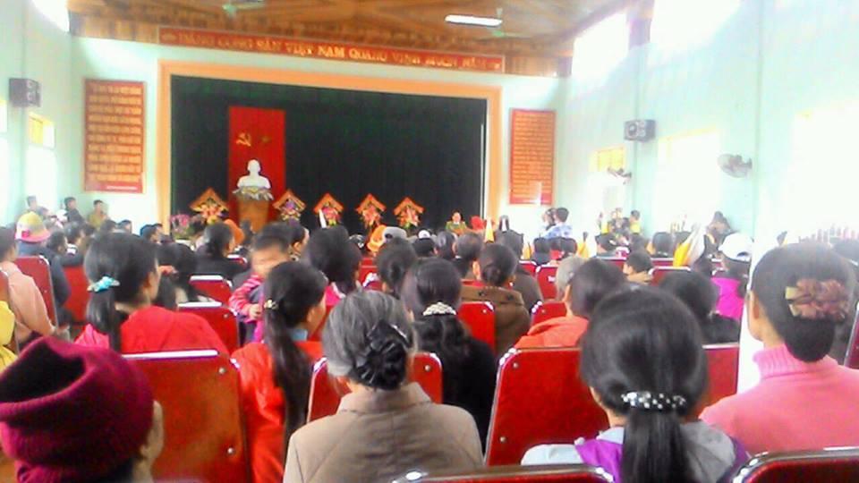 Giáo dân thất vọng với kết luận điều tra của công an huyện Quỳnh Lưu