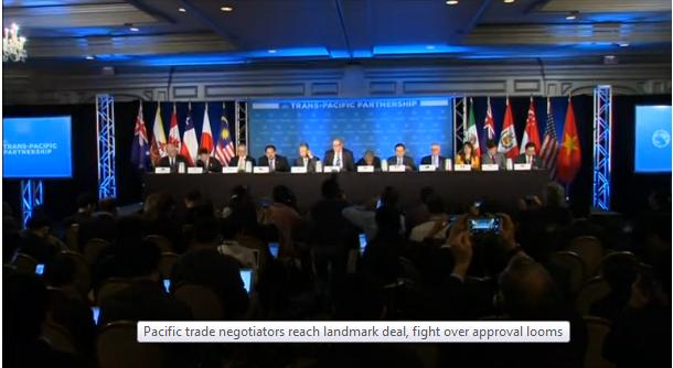 12 quốc gia đạt được thỏa thuận TPP