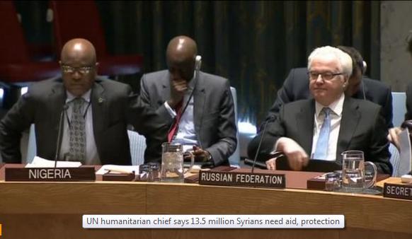 13.5 triệu người Syria cần được viện trợ