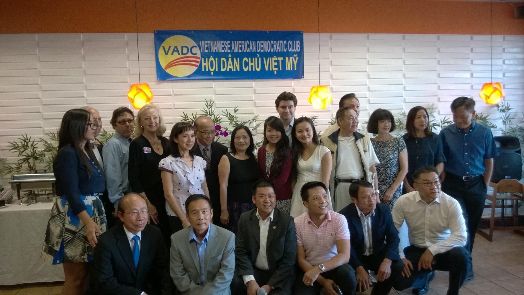 Ra mắt ban chấp hành mới của Hội Dân Chủ Việt Mỹ