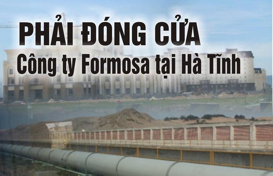 Chuyên gia luyện kim: tạo sức ép buộc chính quyền đóng cửa Formosa là giải pháp duy nhất