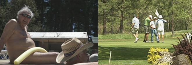 Người vui chơi giảm dần ở các sân golf, hồ bơi
