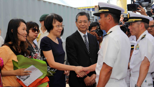 Hải quân Mỹ được đón chào nồng nhiệt ở Đà Nẵng