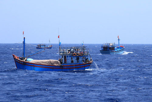 Philippines và Thái Lan bắt giữ nhiều ngư dân Việt đánh cá trái phép
