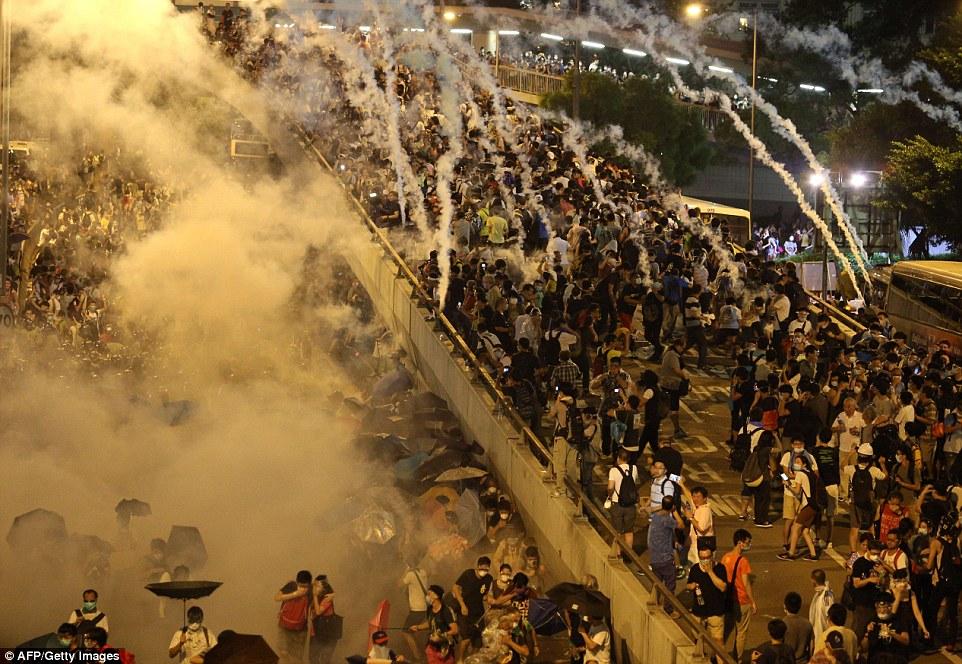 Diễn tiến các cuộc biểu tình dân chủ ở Hồng Kông tiếp tục căng thẳng