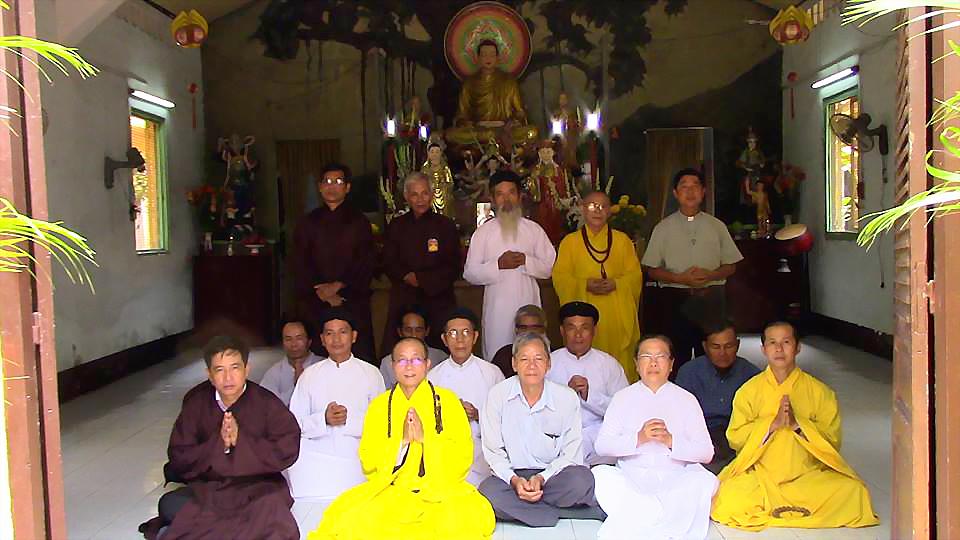 Hội Đồng Liên Tôn hiệp thông cùng chùa Liên Trì Sài Gòn