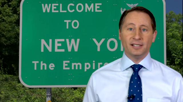 Rob Astorini ra tranh cử thống đốc New York