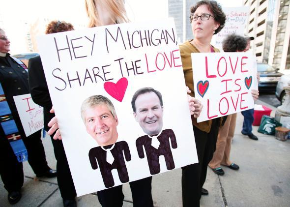 Thẩm phán bác bỏ lệnh cấm hôn nhân đồng tính của tiểu bang Michigan