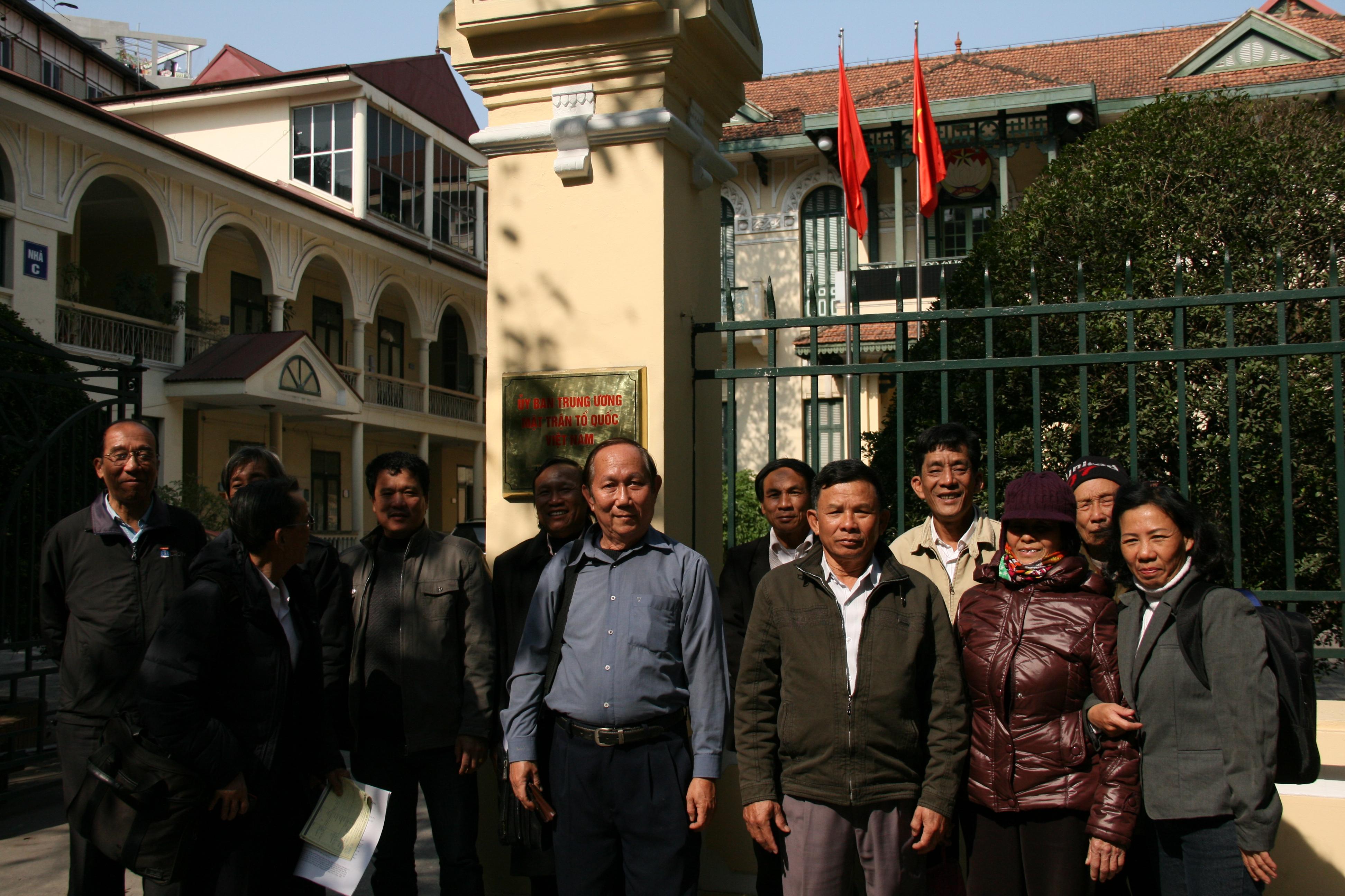 Hiệp hội dân oan Việt Nam ra đời