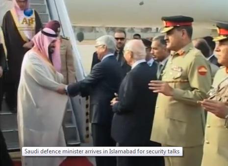 Bộ trưởng quốc phòng Saudi đến Islamabad hội đàm an ninh vùng