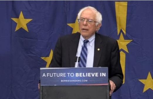 Bernie Sanders: Indiana tiểu bang thứ 18 đòi cách mạng
