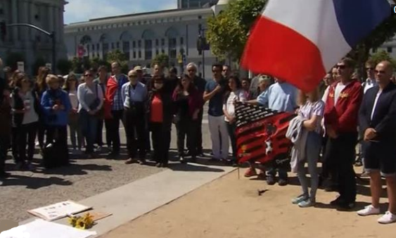 San Francisco cầu nguyện cho nạn nhân Nice
