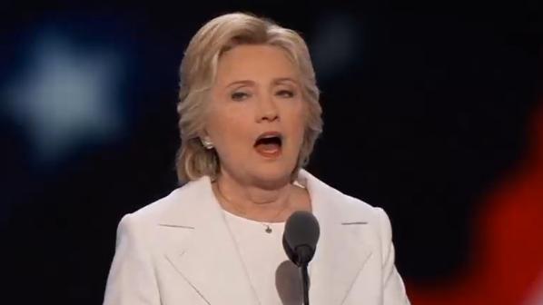 Hillary Clinton tiếp nhận đề cử đảng Dân Chủ