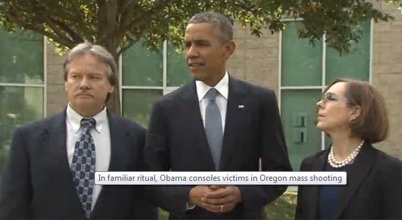 TT Obama an ủi gia đình nạn nhân vụ thảm sát Oregon