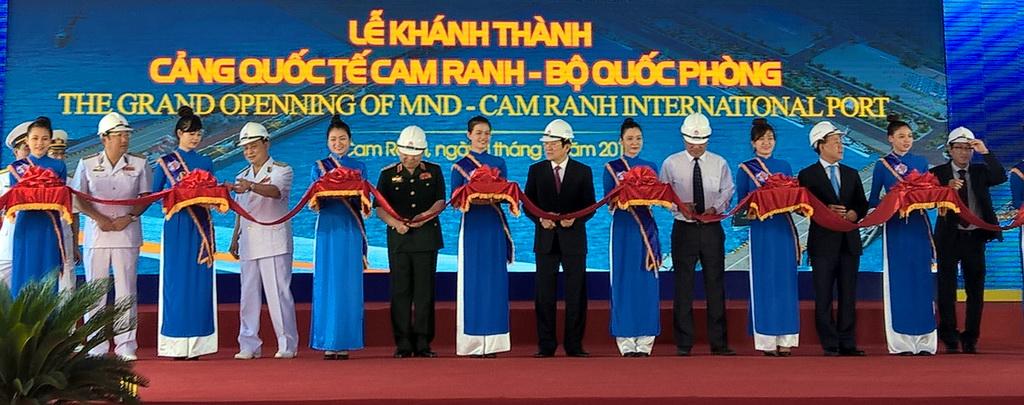 Quân cảng Cam Ranh thành cảng biển quốc tế
