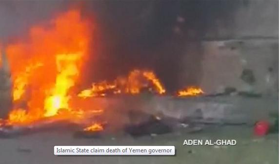 IS đánh bom giết chết thị trưởng TP Aden