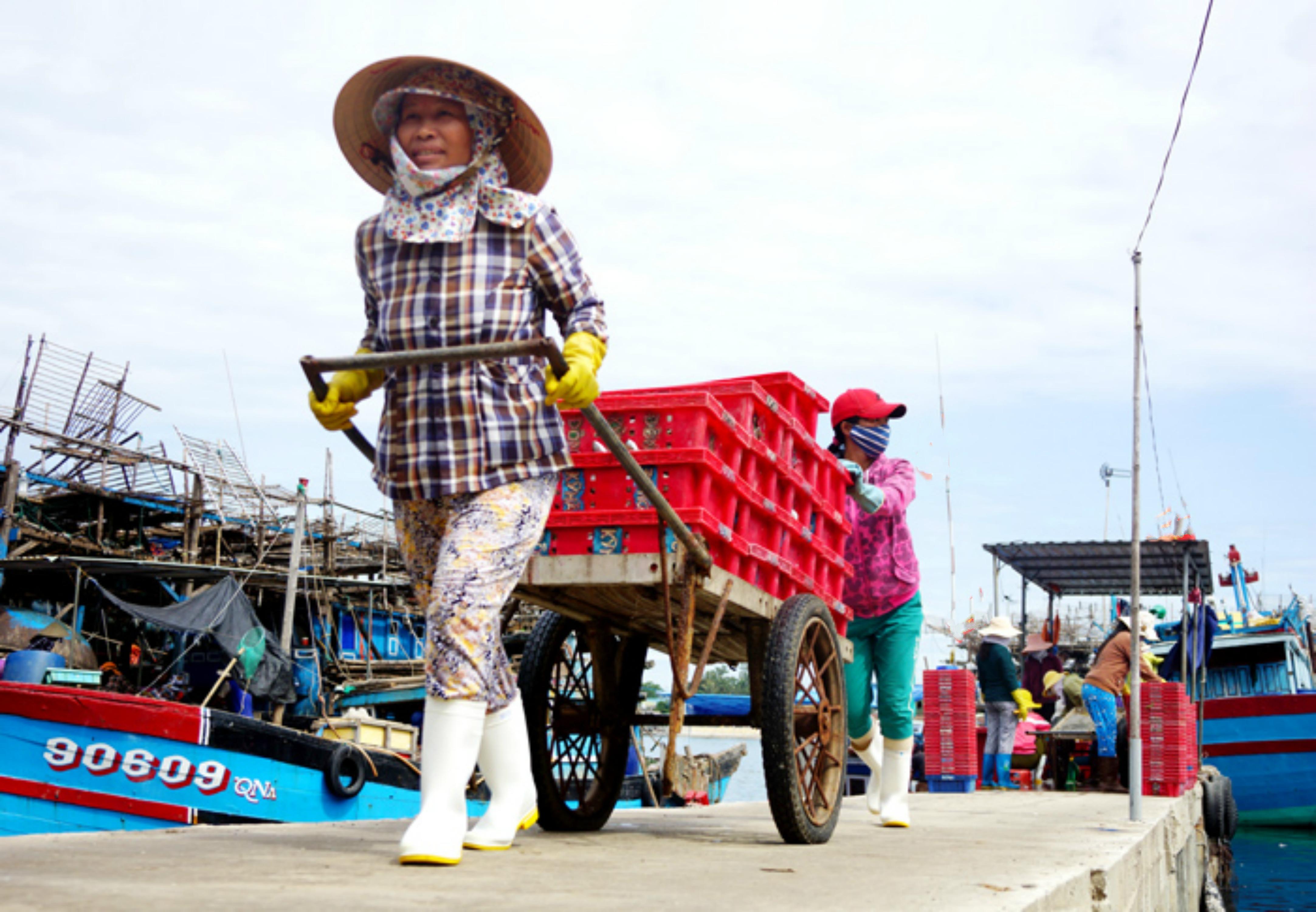 Ngư dân Quảng Nam ra khơi bất chấp lệnh cấm của Trung Cộng