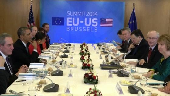 Liên Âu áp lực Hoa Kỳ giúp đỡ để giảm lệ thuộc vào nguồn cung cấp dầu khí của Nga