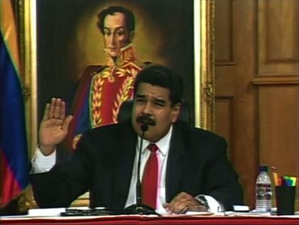 Tổng Thống Maduro đàm phán với đối lập Venezuela