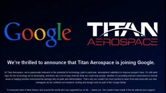 Mua lại hảng sản xuất phi cơ không người lái Titan Aerospace