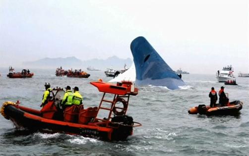 Chìm phà ở Nam Hàn