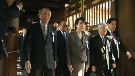 Trên 100 nhà chính trị Nhật viếng đến Yasukuni