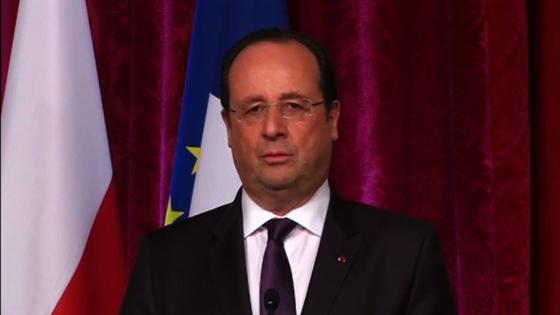 Tổng Thống Hollande nói rằng leo thang căng thẳng ở Ukraine cực kỳ nguy hiểm cho Âu Châu